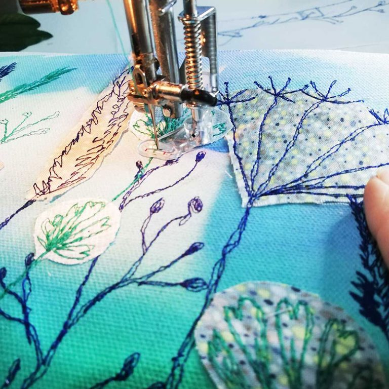 Introduction to Free Motion Embroidery tutorial