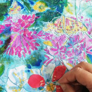 Summer Garden Textile Art course