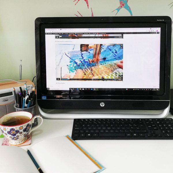 Watching a video tutorial for Flourish membership